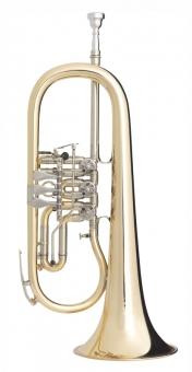 B-Flügelhorn Goldmessing
