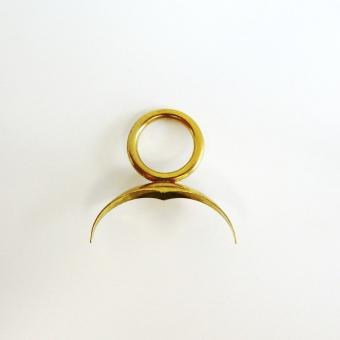HTK Tuba Ring klein, Kappe Messing
