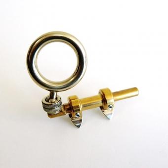 Thumb ring 2-way adjustable with ball