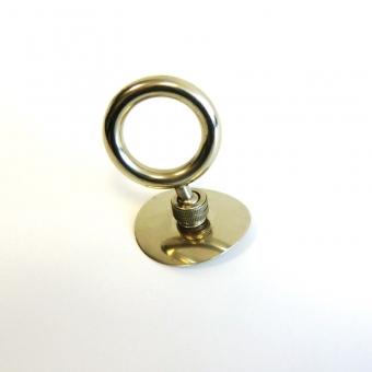Thumb ring Tuba adjustable with ball